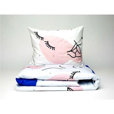 FREE LOVE pamut-szatén ágynemű szett